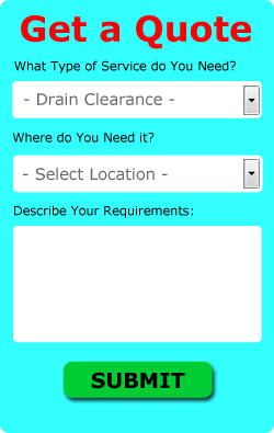 Free London Drain Clearance Quotes